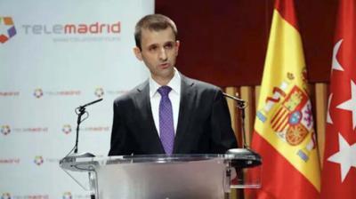 El directivo de la televisión pública madrileña José Pablo López