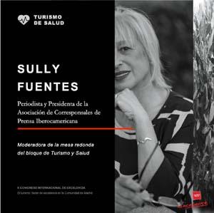 Sully Fuentes moderará espacio 'Turismo y Salud'