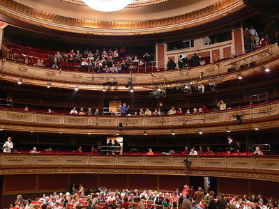 Teatro de La Zarzuela , Auditorio central