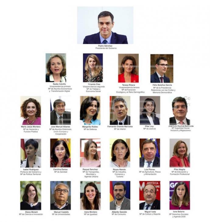 Pedro Sánchez ha anunciado este sábado el cambio de Gobierno