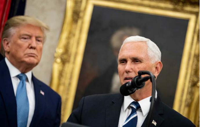 Trump minimiza preocupación por llegada del Covid-19 a la Casa Blanca