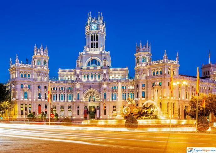 Plaza Cibeles, en Madrid (imagen de referencia)