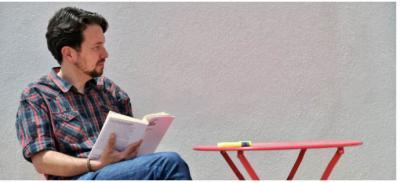 """Pablo Iglesias en su nuevo """"look"""""""
