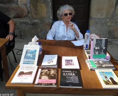 Concha Pelayo participante en diferentes encuentros culturales