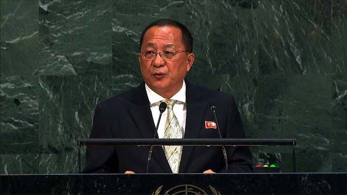 El canciller norcoreano dice que el programa nuclear es el 'preciado fruto de la sangrienta lucha del pueblo coreano'.