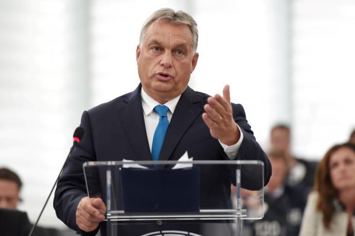 Primer ministro húngaro, Viktor Orbán.