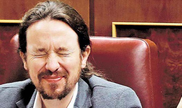 Pablo Iglesias, líder de Unidas-Podemos