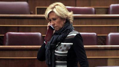 La diputada Carmen Álvarez-Arenas, en una imagen de archivo.