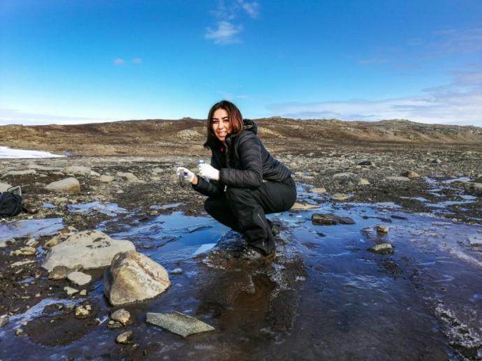 Investigadores de Chile y México estudian diversidad microbiana de suelos antárticos