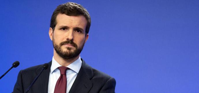 Pablo Casado, presidente del PP (foto PP)