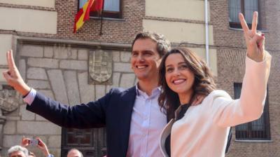 Rivera y Arrimadas en una imagen de archivo