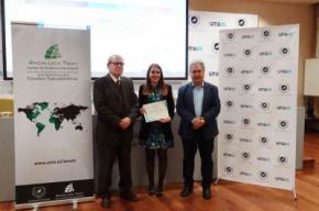 Premio George Campbell del Aula María Zambrano UMA-ATECH para Verónica Membrive de la UAL