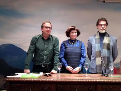 Rogelio Sánchez Molero y Joaquín Pavía Cardells, recital poético en el Centro Riojano de Madrid