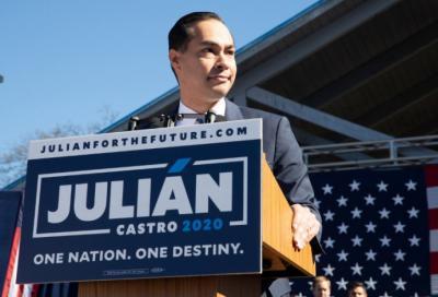 Julián Castro, exmiembro del gobierno de Barack Obama, quiere ser presidente de Estados Unidos.