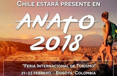 Coquimbo, Biobío y Los Lagos desplegarán sus atractivos turísticos en Colombia