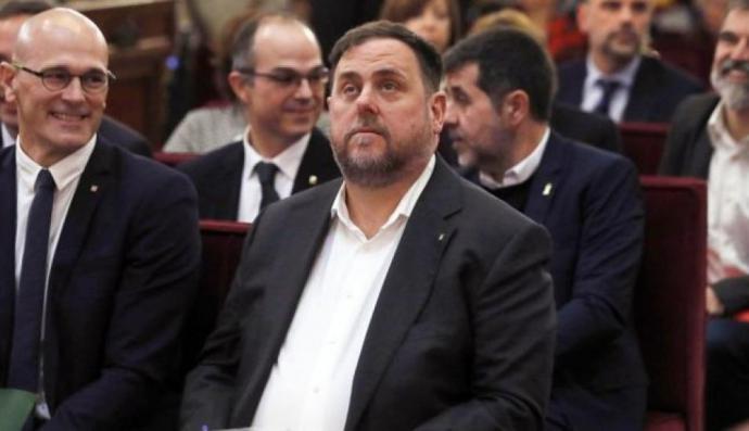 Uno de los enjuiciados es el ex presidente catalán, Oriol Junqueras