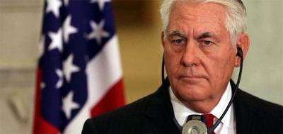 El secretario de Estado de EE.UU., Rex Tillerson