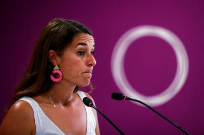La portavoz de Podemos, Noelia Vera