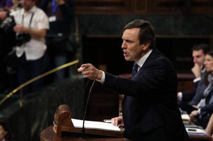 El portavoz del Partido Popular, Rafael Hernando. MARTA JARA
