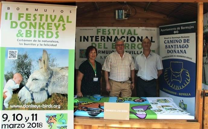 El II festival del burro de Bormujos contará con ejemplares majoreros