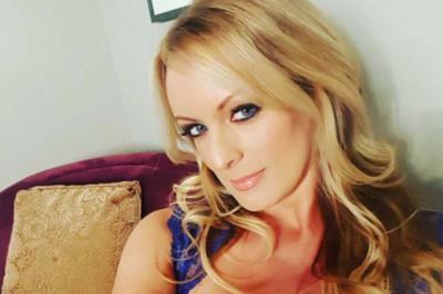 La estrella porno estadounidense Stormy Daniels, tomada de Instagram