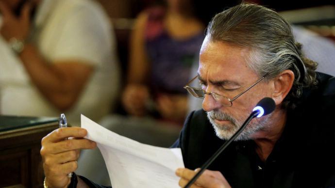 Francisco Correa, el cabecilla de la trama Gürtel, en imagen de archivo