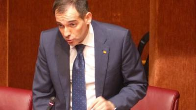Juan José Liarte, portavoz del Grupo Parlamentario Vox y expulsado de su partido / Asamblea Regional de Murcia