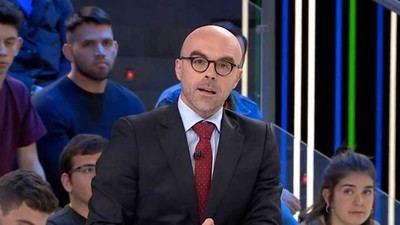 Jorge Buxadé, candidato de Vox a las elecciones europeas, en el programa El Objetivo. LASEXTA