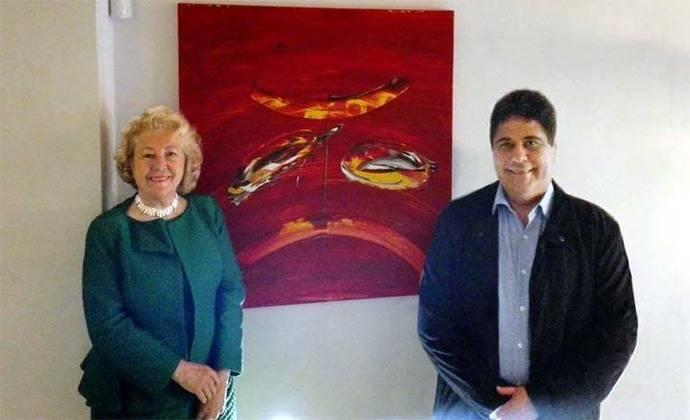 """Exposición Grupo pro Arte y Cultura en """"La Embajada"""" de Madrid"""
