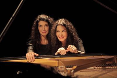 Las hermanas Labèque reivindican la música vasca de los últimos 500 años en Amoria, en el Arriaga de Bilbao