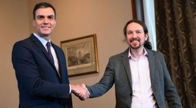 El acuerdo de PSOE y Unidas Podemos reconcilia a España con su historia parlamentaria y con el contexto europeo