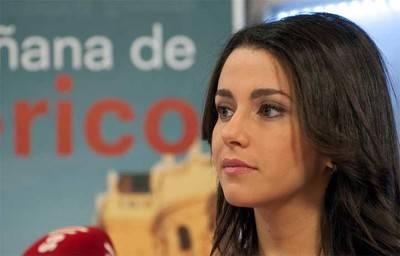 Inés Arrimadas, líder de C's en Cataluña