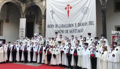 La Orden el Camino de Santiago promociona el Xacobeo 2021