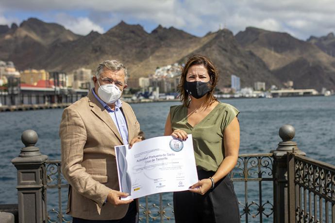 La Sociedad de Desarrollo de Santa Cruz de Tenerife, distingue a la Autoridad Portuaria en el marco del SICTED