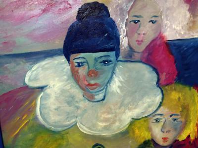 Adelina Covián: Pintura contra la pandemia