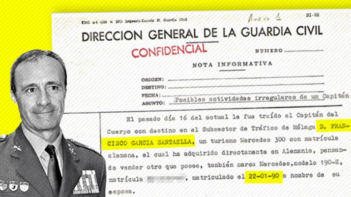 Objetivo 'Angola': treinta años de impunidad para el coronel de la Guardia Civil investigado por narcotráfico