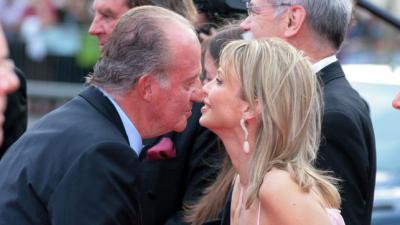 El rey emérito Juan Carlos I y Corinna Larssen en una imagen de archivo