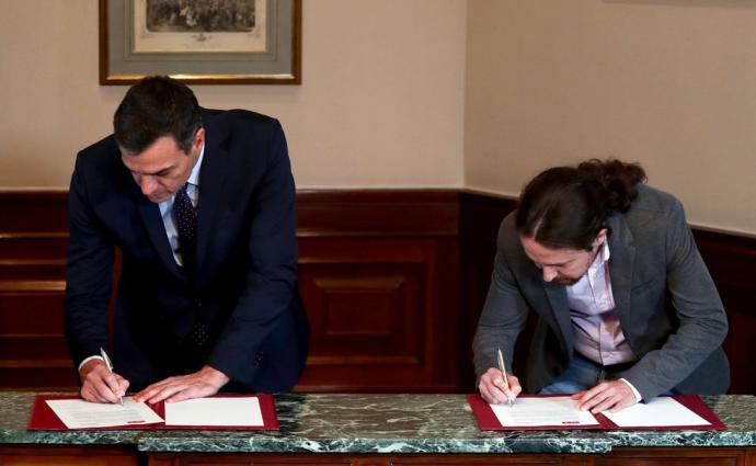 Acuerdo entre el PSOE y Unidas Podemos sitúa a Pablo Iglesias como vicepresidente de España