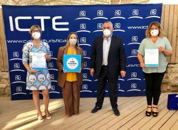 """Murcia: La Región cuenta con 58 certificados turísticos """"Safe Tourism Certified"""""""