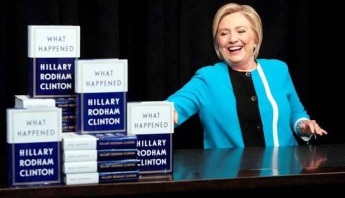 Hillary Clinton, ex secretaria de Estado y ex candidata demócrata a la presidencia de Estados Unidos.