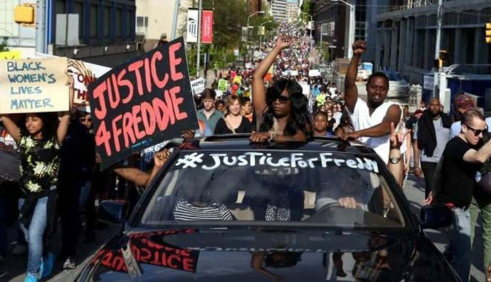 La muerte de Gray desató una ola de protestas de la comunidad afroamericana en Baltimore.