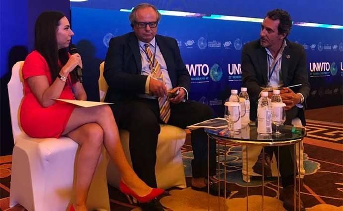 Miguel Mirones, presidente del ICTE, participa en China en la Asamblea General de la OMT