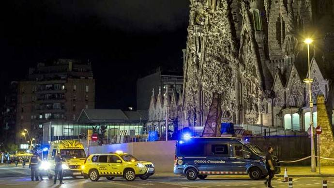 Una falsa alarma obliga a desalojar la Sagrada Familia de Barcelona