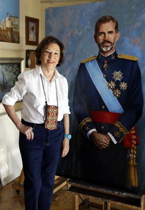 Irene Iribarren, de Barcelona a Madrid, retratista de la familia real y la clase diplomática