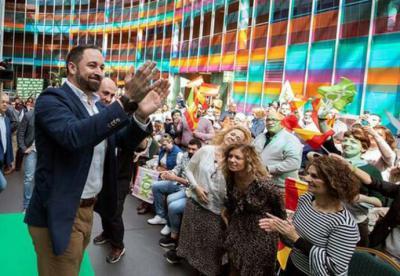 Abascal no llena auditorios en su 'patria chica' el día de su cumpleaños