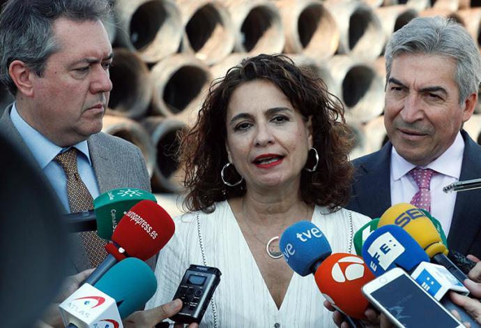 Mª Jesús Montero, ministra de Hacienda en funciones