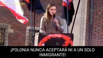 Captura del vídeo difundido por la diputada de Vox