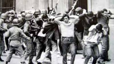 (Imagen de archivo) . Detenciones masivas por las fuerzas armadas durante la dictadura