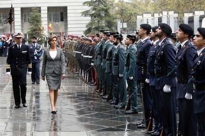 Dolores de Cospedal, Ministra de Defensa (imagen de archivo)