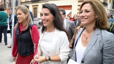 La fiscal requiere a Teresa Rodríguez más detalles del mitin de Monasterio junto al centro de menores de Sevilla para decidir sobre la denuncia por incitar al odio